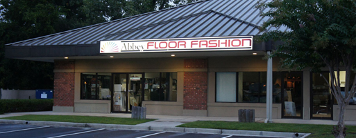 Storefront of Abbey Floor Fashion in Hilton Head Island, SC